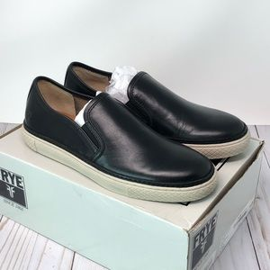 Men's Frye Gates Slip On Loafers Black Sz 8.5